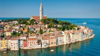 Rovinj en Istrie Croatie