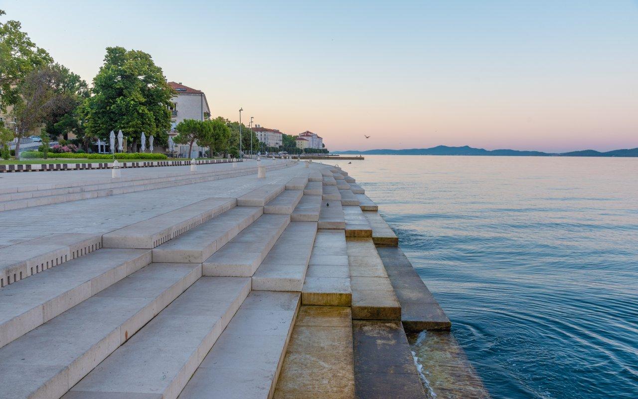 fun fact croatie atypique Zadar orgue sea organ - Terra Balka voyages Croatie