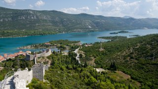 La muraille de Ston - Circuits sur mesure Croatie