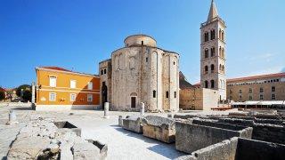 Zadar site unesco en Croatie
