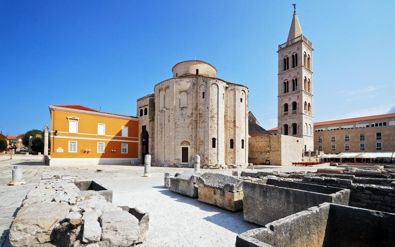 Ville de Zadar en croatie site unesco