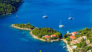 Adriatique croatie ile de mljet