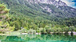 Lac de Jasna - circuits famille Slovenie Europe