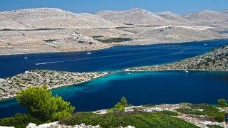 Croatie parc national des kornati