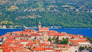 Adriatique croatie ile de korcula