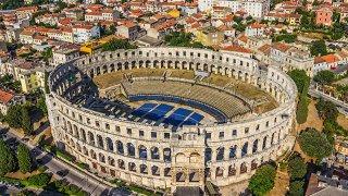 Amphitheatre Pula - circuits sur mesure Croatie Europe
