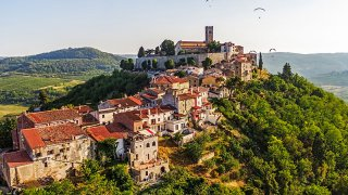 Motovun istrie - Circuits sur mesure Croatie europe