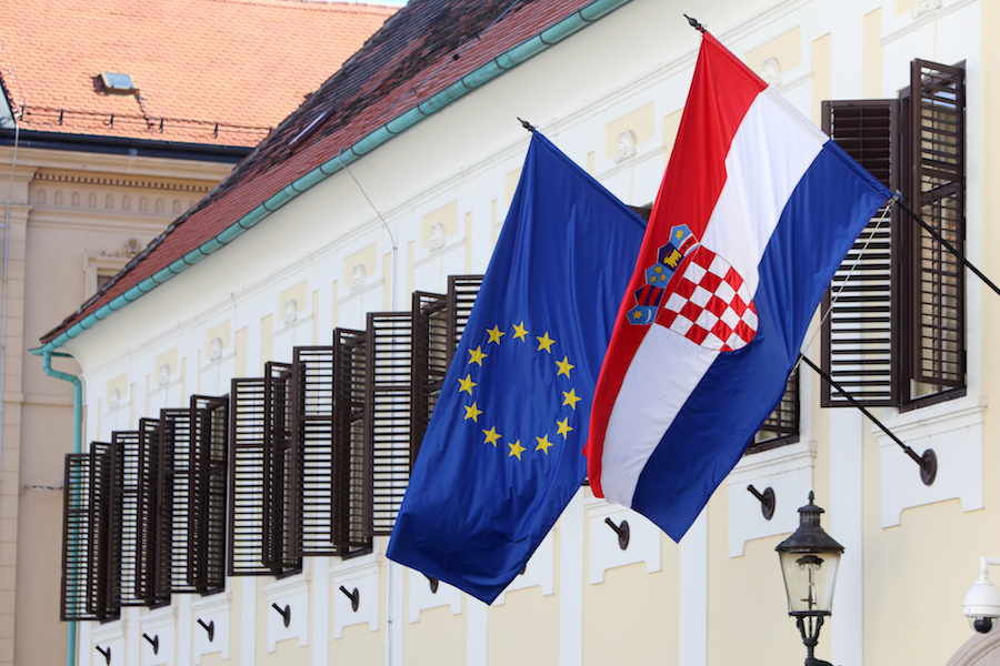 Zagreb Croatie Election