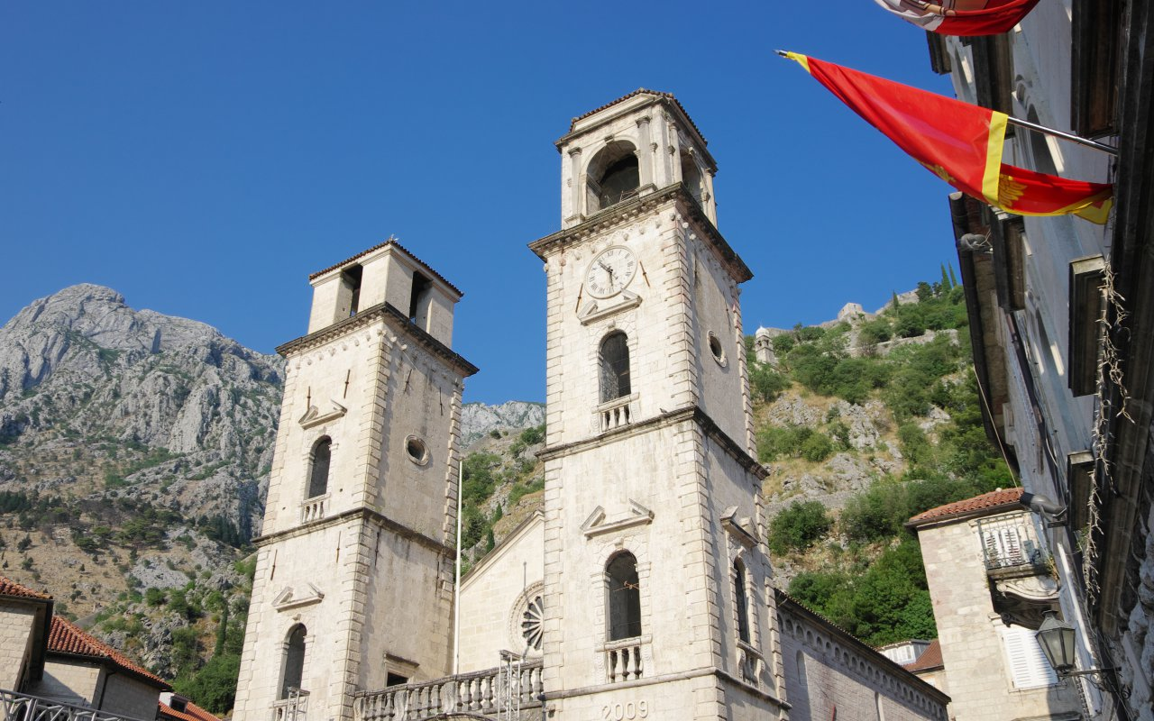 Cathedrale Kotor Baie de kotor - Circuits sur mesure Monténégro Europe
