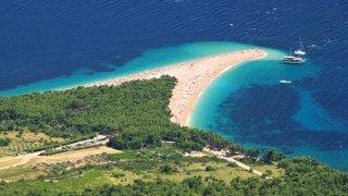 Adriatique croatie ile de brac zlatni rat