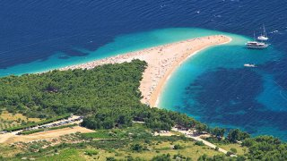 ile de brac zlatni rat - Vacances en famille sur mesure croatie europe