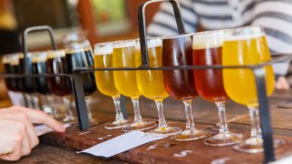 Dégustation de bières Europe