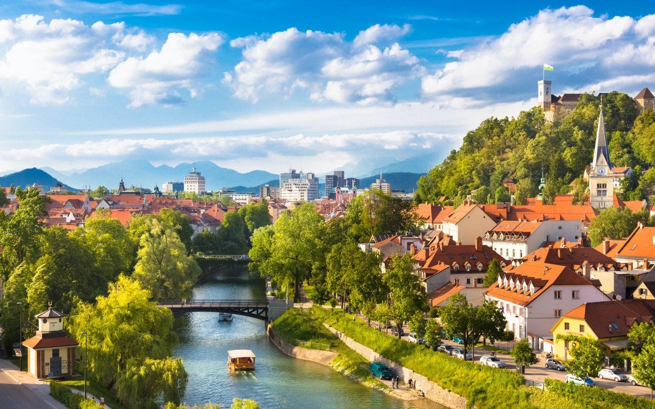 Panorama de Ljubljana - Circuits sur mesure Slovénie Europe