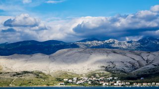 Adriatique croatie ile de pag