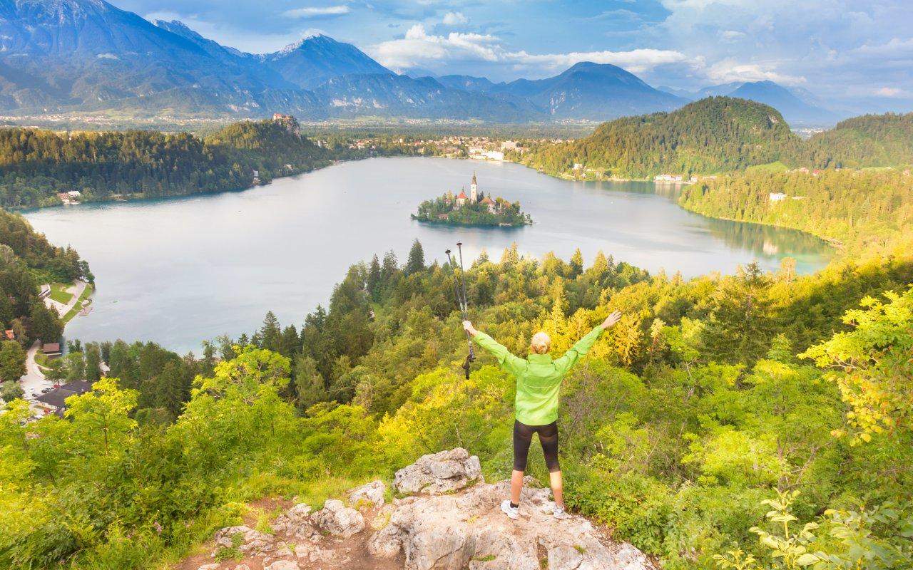 Lac de bled - vacances en famille Slovénie Europe