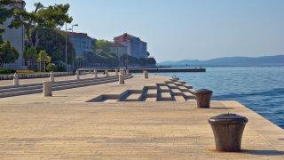 Orgue marin à Zadar en Croatie