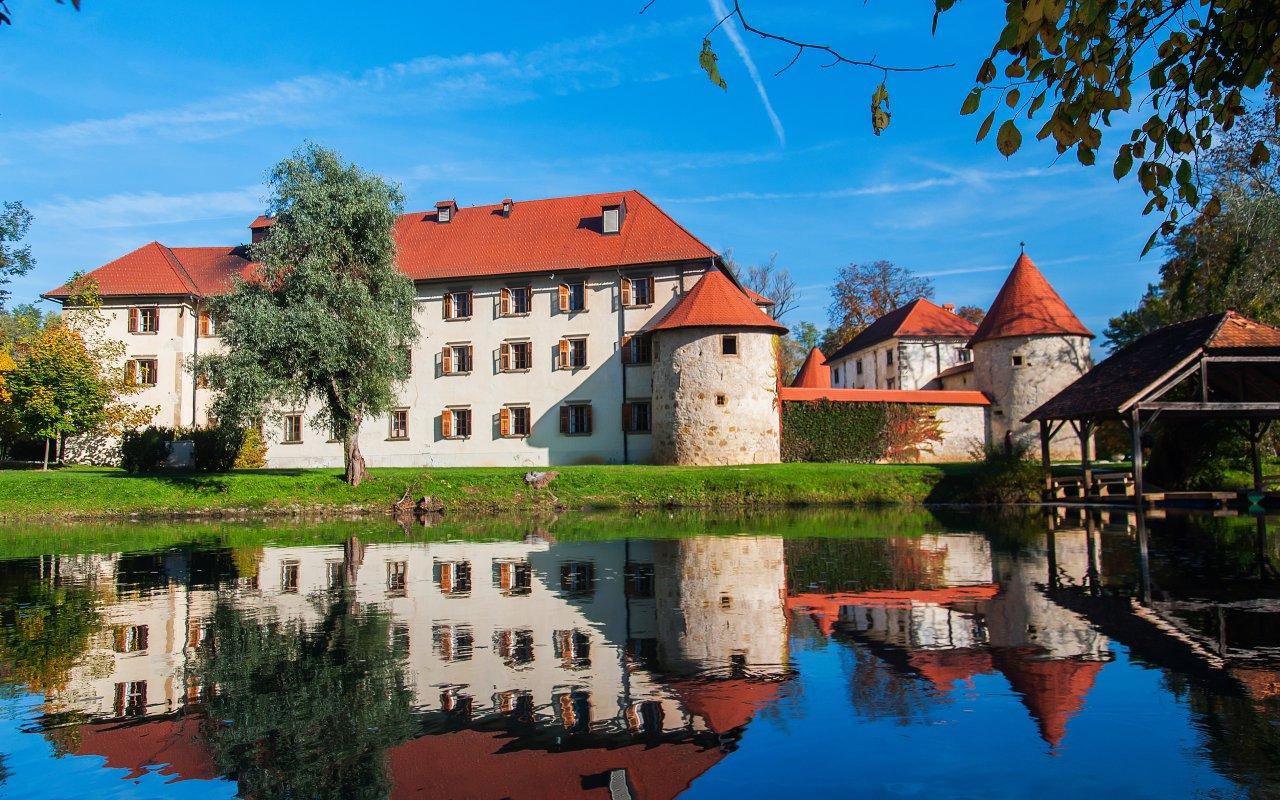 Chateau otocec - Circuits sur mesure Slovénie Europe