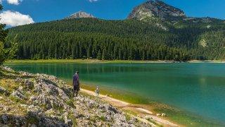 Lac noir parc durmitor - vacances famille montenegro terra balka