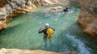 canyoning en slovenie vallée de la soca