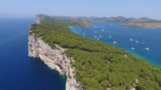 Croatie parc national des Kornati Telascica
