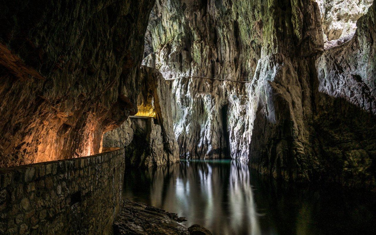 Caves de Skocjan site unesco Slovénie Europe