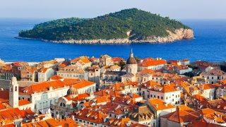Lune de miel en Croatie au bord de l'Adriatique