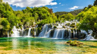 Voyage Famille Parc national krka - circuits sur mesure Croatie Europe