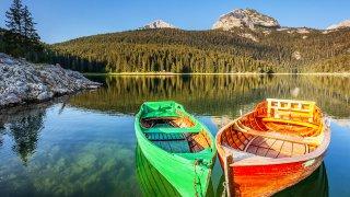 Chasse au trésor en famille dans les montagnes noires - circuits sur mesure Montégnégro Europe