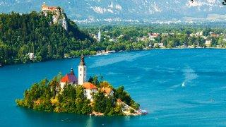 Lune de miel LOVE en Slovénie
