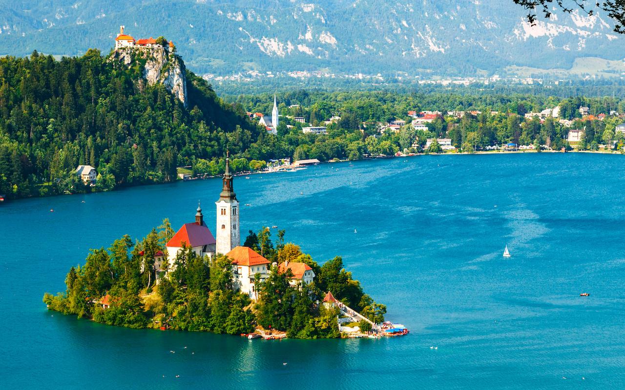 Lac de Bled lune de miel - Circuits sur mesure Slovénie Europe