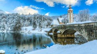 Sports d'hiver au coeur des Alpes Juliennes