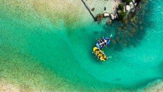 canyoning rafting rivière soca - Circuits sur mesure Slovénie Europe