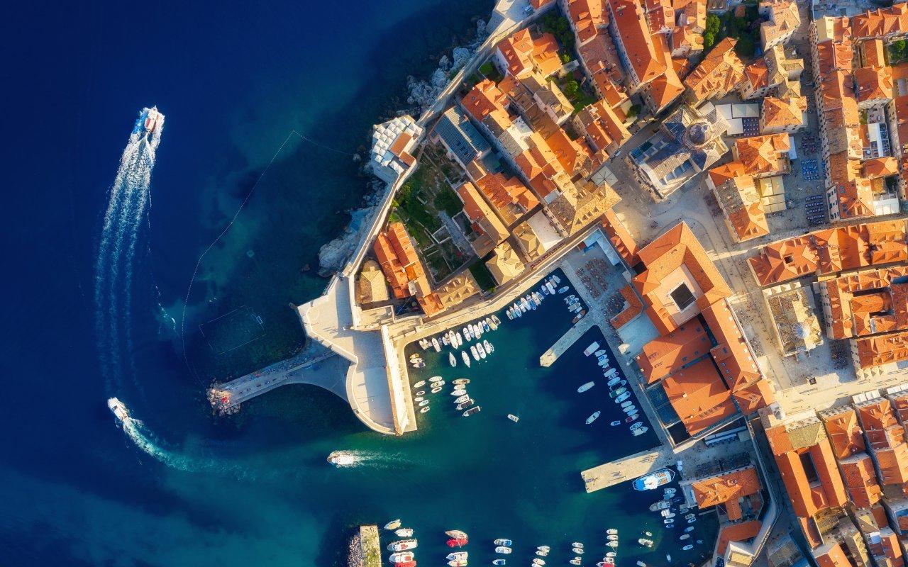 UNESCO World Heritage Croatia Dubrovnik sky - Terra Balka voyages Croatie