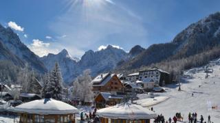 station ski en slovenie