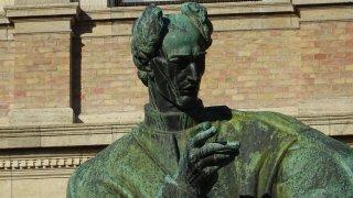 La Statue de JJ. Strossmajer - zagreb croatie