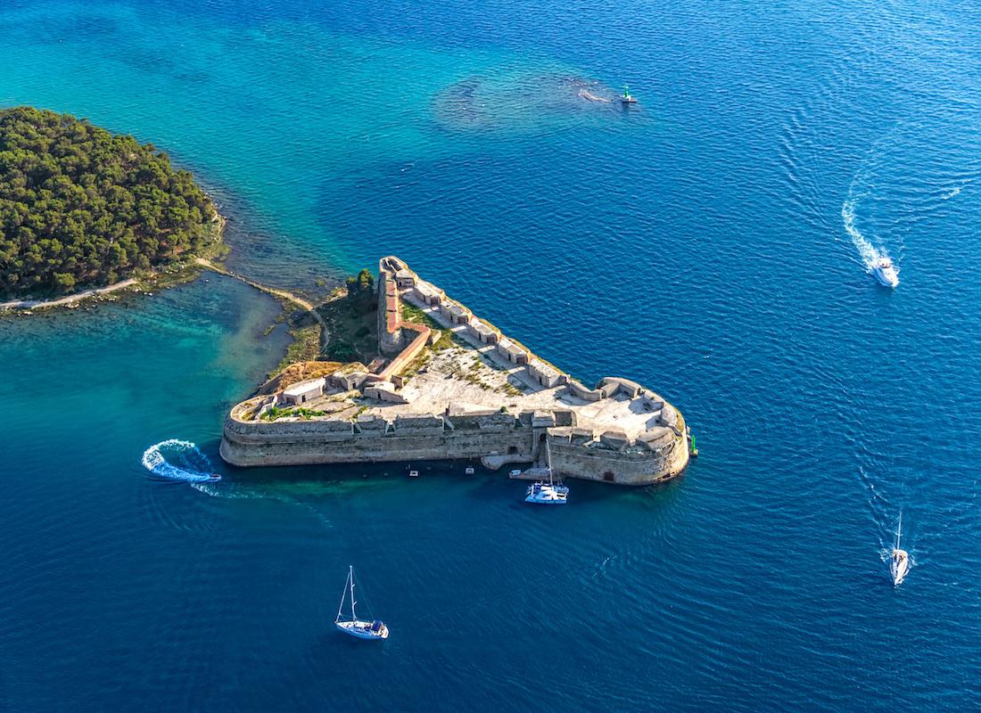 UNESCO World Heritage Croatia Fortress Sibenik - Terra Balka voyages Croatie