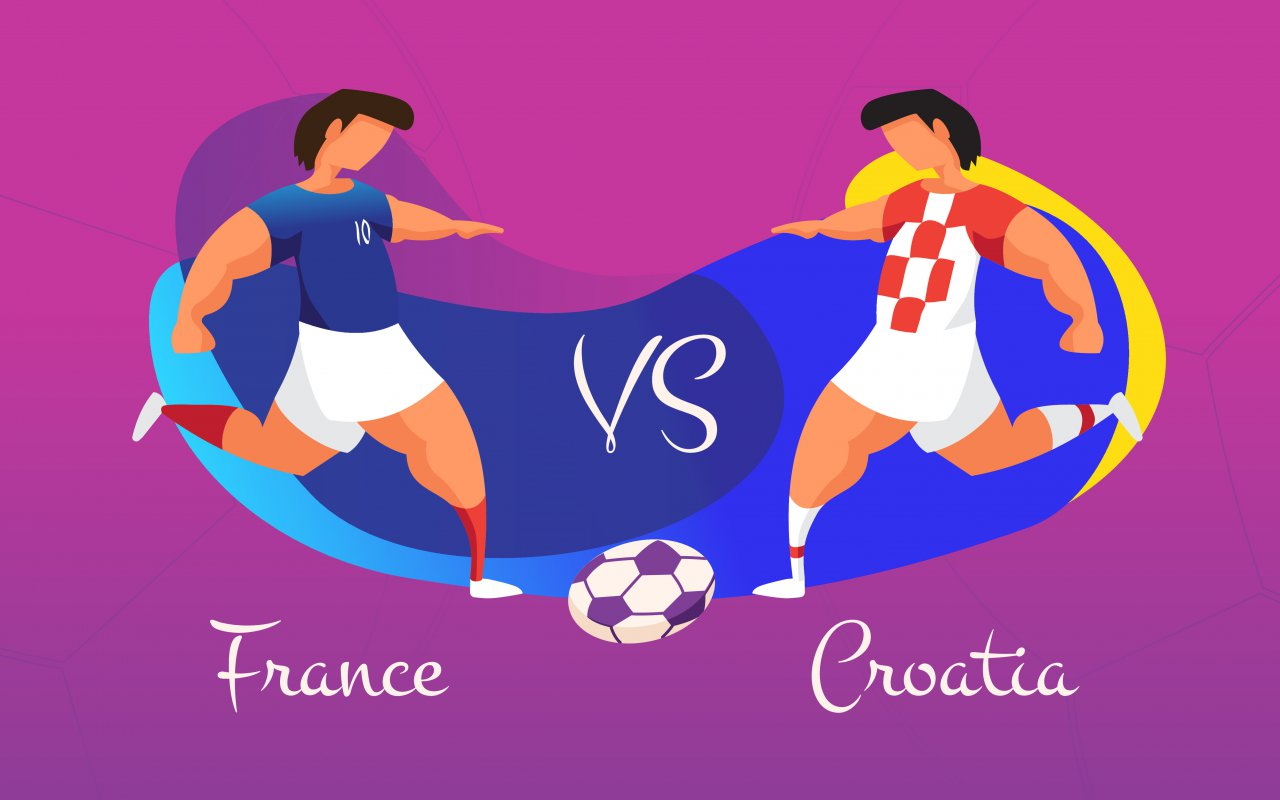 finale football France - Croatie