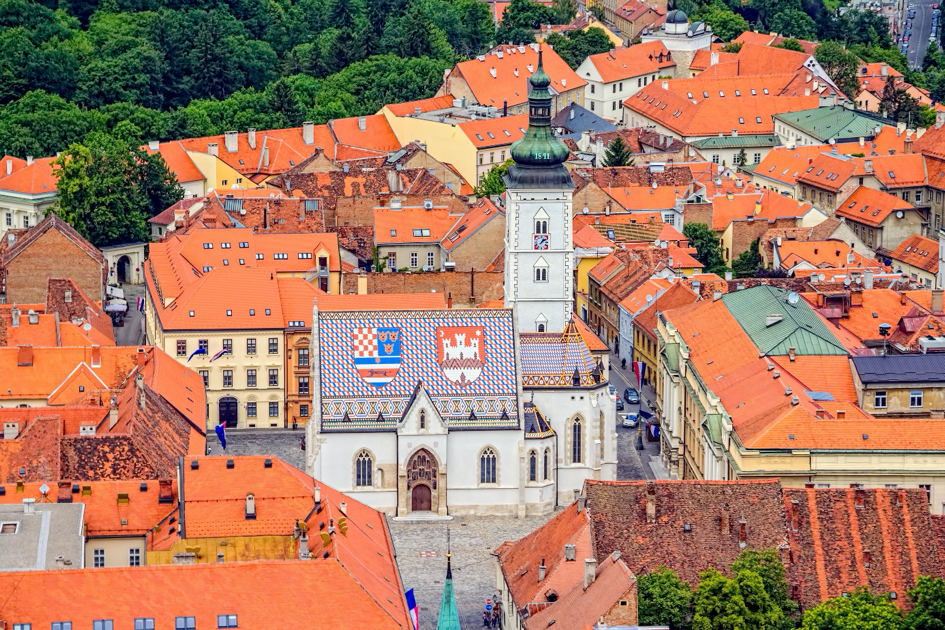 Eglise Saint Marc Zagreb - Circuits sur mesure Croatie Europe