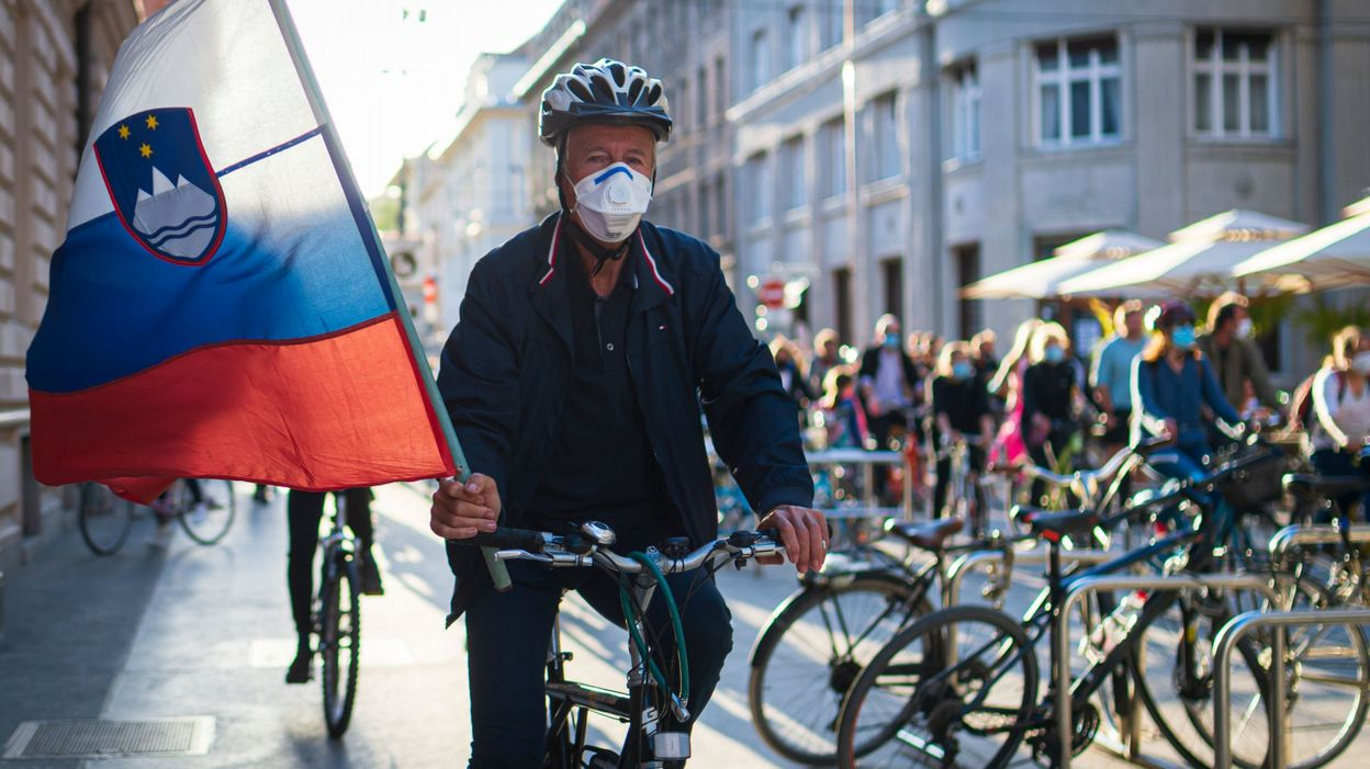 Manifestation vélo actualité - Slovénie Europe Terra Balka