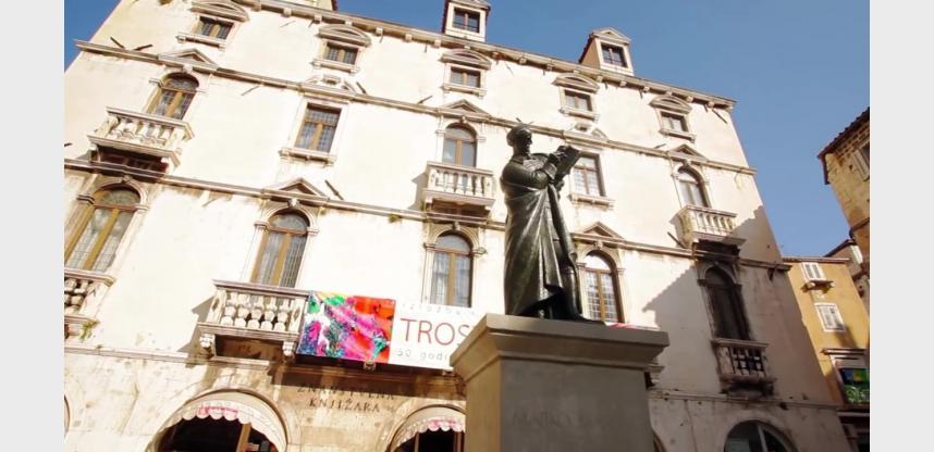 La statue d'Andrija Marulic - Ivan Mestrovic
