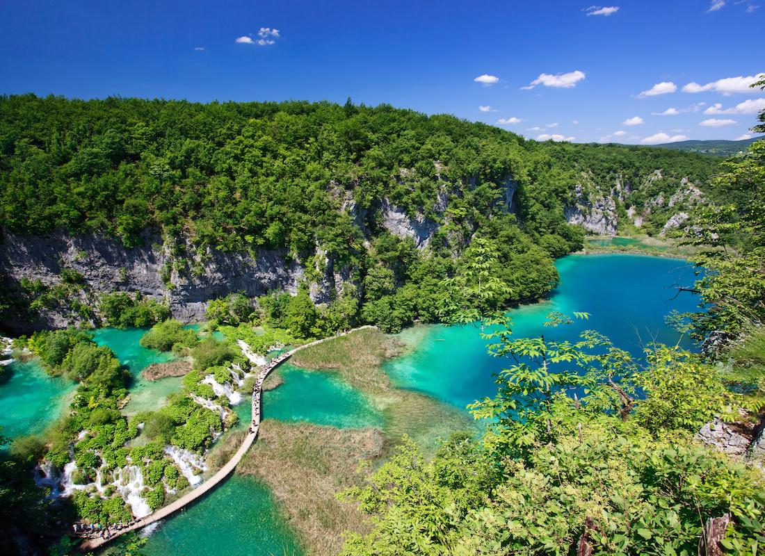 UNESCO World Heritage Croatia Plitvice Lakes - Terra Balka voyages Croatie