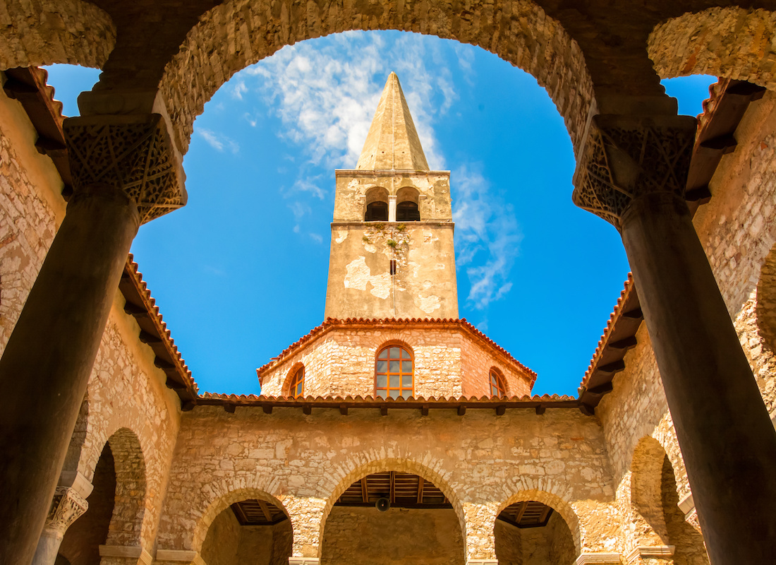 UNESCO World Heritage Croatia Euphrasian Basilica Porec - Terra Balka voyages Croatie