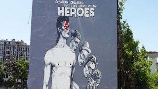 graffiti sarajevo - circuits culturels Bosnie