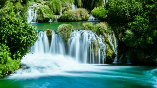 Voyage Famille Parc national krka - circuits sur mesure Croatie Europe
