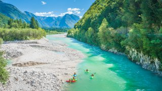 Alpes juliennes riviere soca - vacances sur mesure slovenie europe
